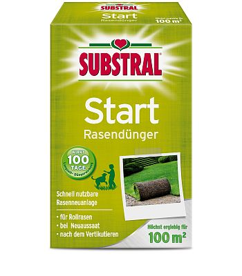 SUBSTRAL® Start Rasendünger, 2 kg