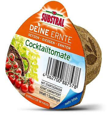 SCOTTS Substral® Deine Ernte Saatkegel Cocktailtomate